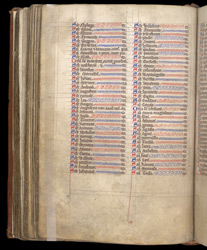 The Litany Of Saints, In The Coldingham Breviary